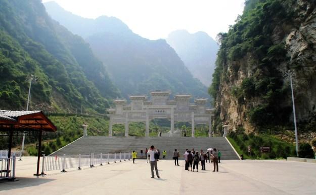 Mount Huashan climbing one
