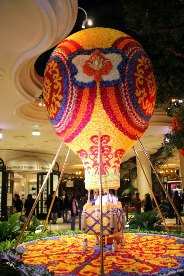 Encore Las Vegas hot air balloon