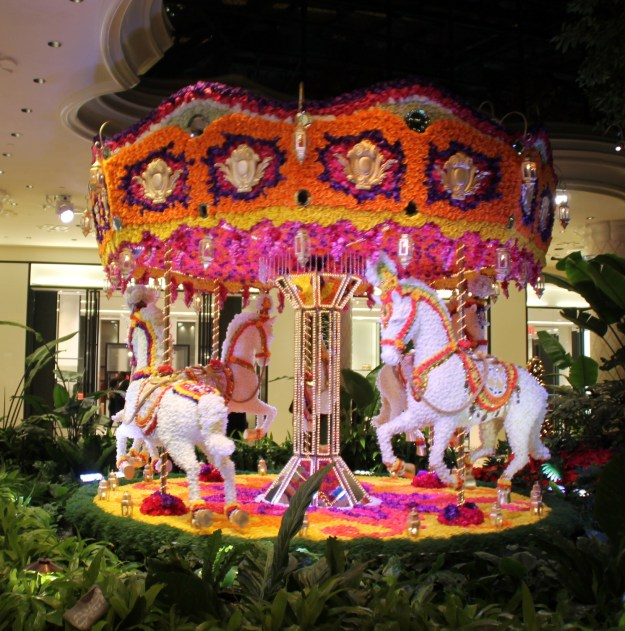 Encore Las Vegas merry go round