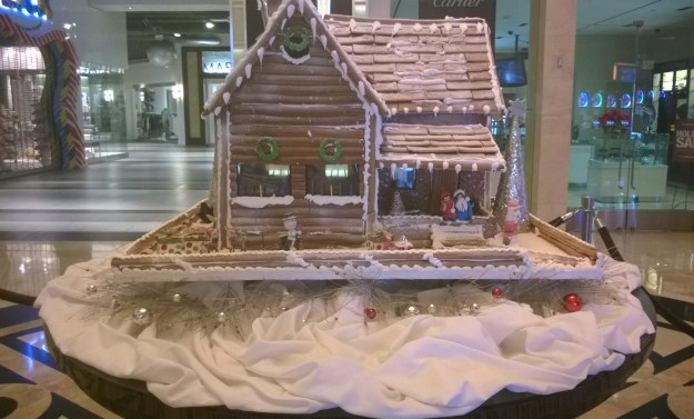 Monte Carlo gingerbread house