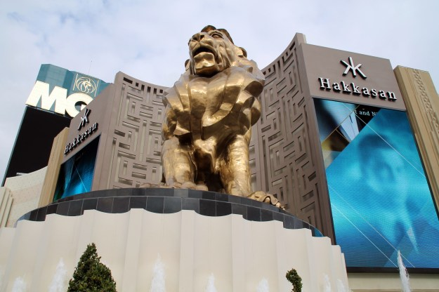 mgm grand lion las vegas