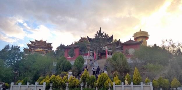 Guishan temple dusk