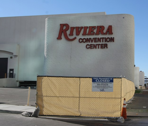 riviera las vegas convention center closed