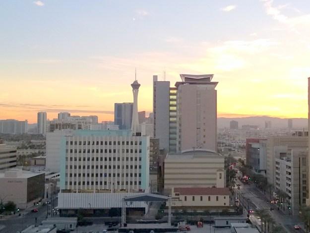 Four Queens Las Vegas room view