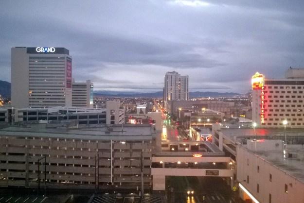 california hotel room view