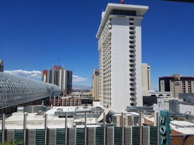 fremont hotel las vegas room view