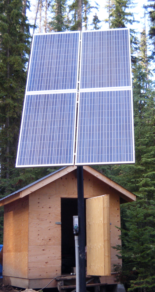 solar panels used for cabin diy solar kits