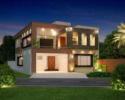 Home Design 3D Front Elevation House Design | W-A-E company