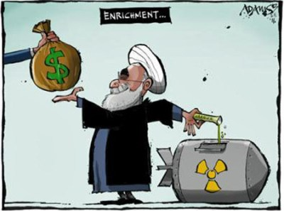 http://i2.wp.com/iranpoliticsclub.net/cartoons/obama-iran2/images/Rouhani%20Dollars%20Enrichment%20Iran%20Nuclear%20Deal%20Cartoon.jpg?resize=400%2C297