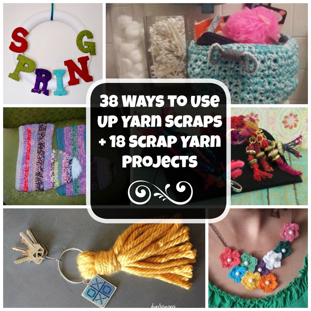 38 Ways to Use Up Yarn Scraps + 18 Scrap Yarn Projects | FaveCrafts.com