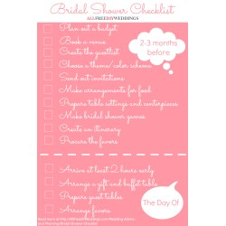 Small Crop Of Bridal Shower Checklist
