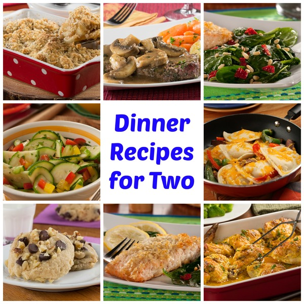 50 Easy Dinner Recipes for Two | MrFood.com
