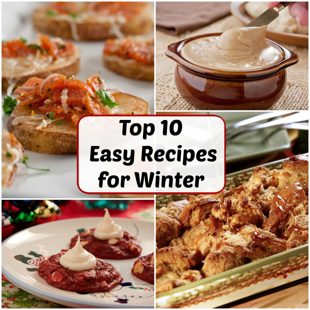 December's Top 10 Most Popular Easy Recipes for Winter | MrFood.com