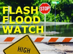 Rains expected to lash the island-Flash Flood Watch