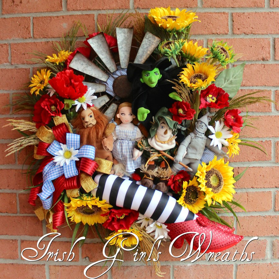 Wizard of Oz Kansas Wreath