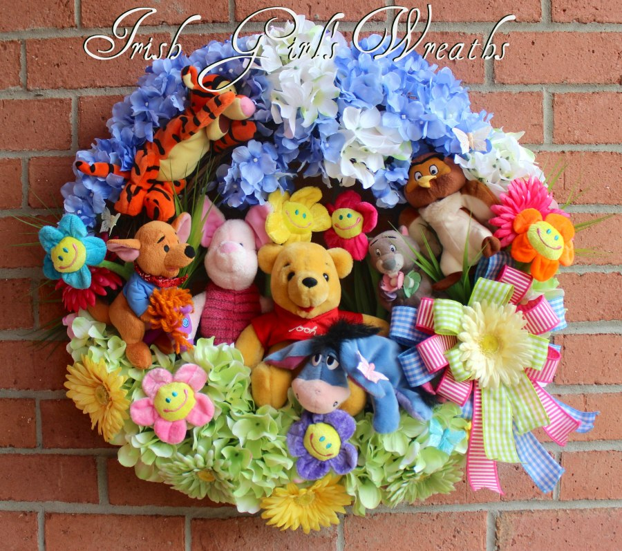 Winnie the Pooh and Friends Wreath