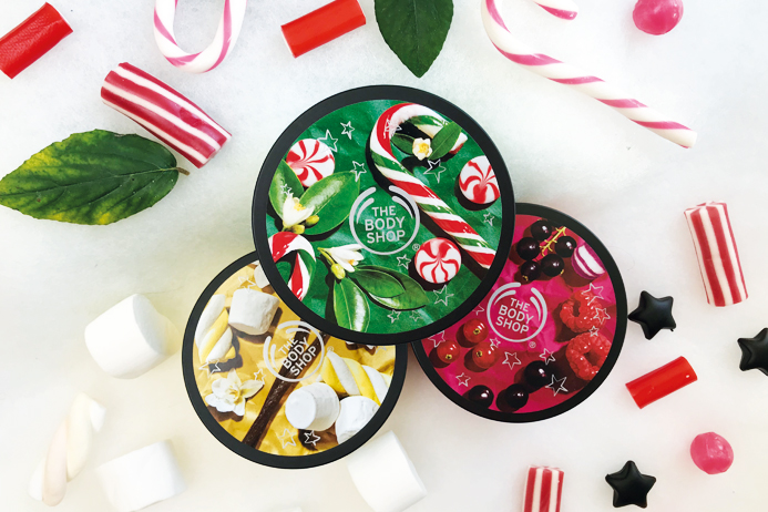 The Body Shop body butter kerst