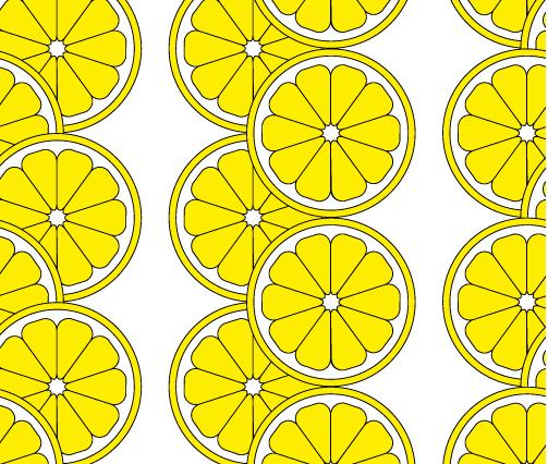 レモンのパターン
