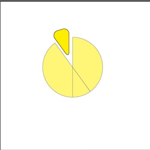 手順:角を丸くしたオブジェクト