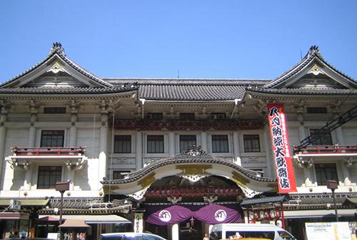 歌舞伎座リニューアル前