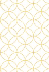 超簡単にIllustratorで七宝繋ぎのパターンをつくる -和素材作り-