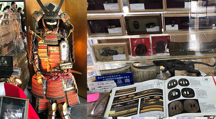 東京江戸ウィーク:甲冑