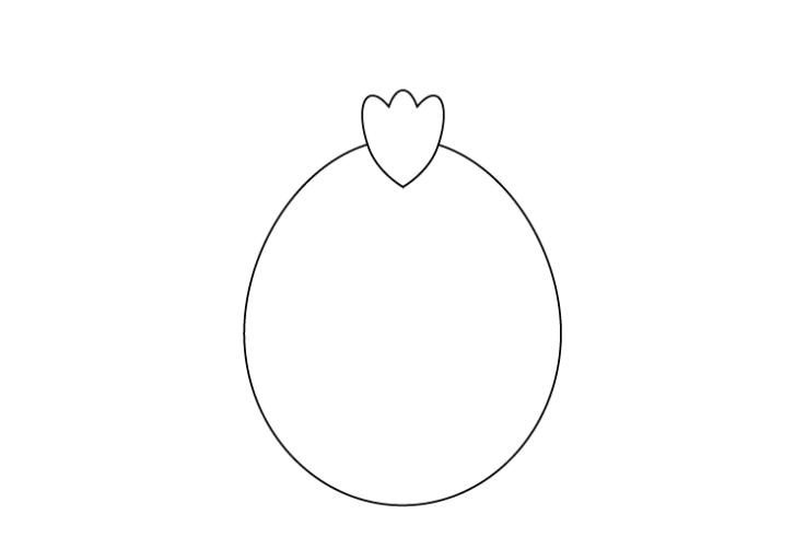 1で描いた楕円に重ねる