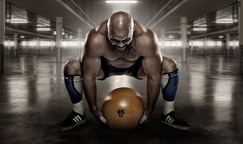 Heavy Dead Ball Training