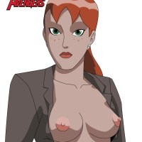Pepper Potts shows her pepper boobs