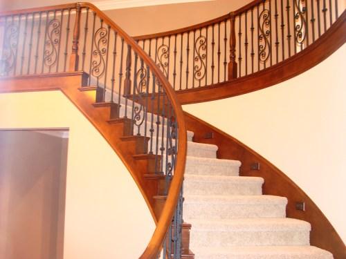 Medium Of Wrought Iron Handrail