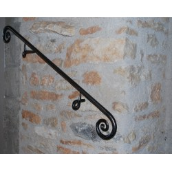 Small Crop Of Wrought Iron Handrail