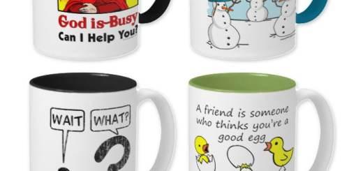 Novelty Mugs Funny Drinkware