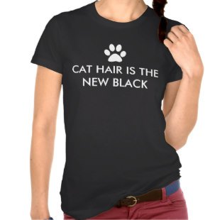 Dog or Cat Hair is the New Black Shirts