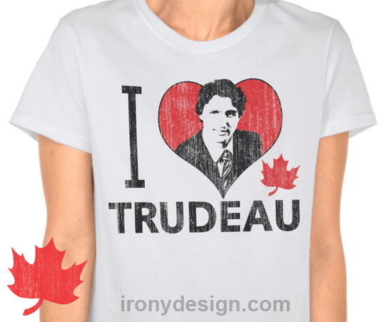 I Heart Trudeau Gifts