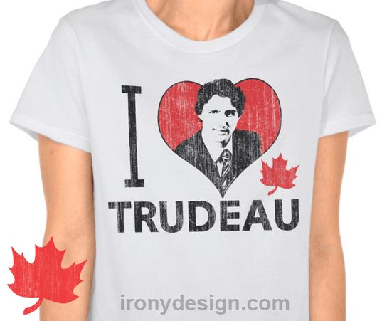 I Heart Trudeau Gifts