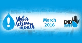 Water Action Month: March 2016! | Save the date