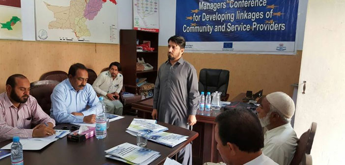 Manages Conference for Developing linkages of Community and Service Providers