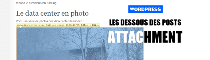 Configurer une page d&rsquo;image attache  votre thme
