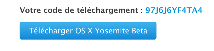 Comment installer la beta publique de Mac OS X Yosemite ?