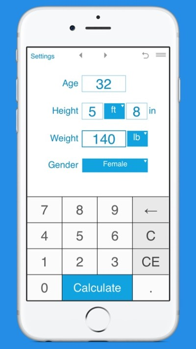 Smart BMR Calculator by Intemodino Group s.r.o.