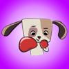 SANSYZBAY OSPANOV - Funny Touching Puppy - New Dog Stickers! アートワーク