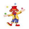 Daniel Thomas - Clown Party アートワーク