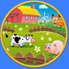 witkowski micael - 私の子供と農場の動物 - 広告なし アートワーク