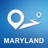 Siarhei Zaturanau - 米国メリーラント州 オフラインGPS ナヒケーション&地図 アートワーク