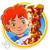 Sneak a Snack HD - 3D interactive children's story book with fun factor!