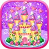 Le Zhao - Castle Cake Design-Girls Cooking Makeup Makeover Games アートワーク