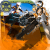 Carolina Vergara - A Biker Dead Highway : Nitro Wheels アートワーク