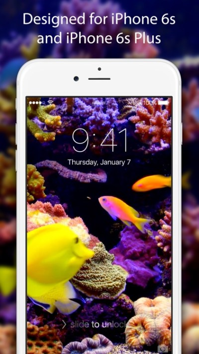 Live Wallpapers & Themes - Dynamic Backgrounds and Moving Images for iPhone 6s and 6s Plus by ...
