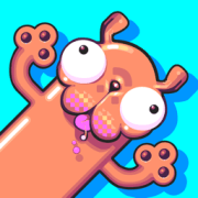 Silly Sausage in Meat Land by Nitrome App Icon on #iconagram.