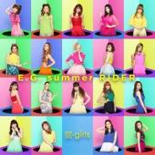 E-girls - E.G. summer RIDER アートワーク